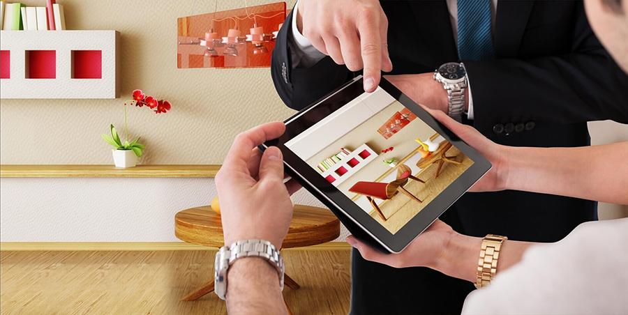 AR增强现实楼盘楼书展示系统