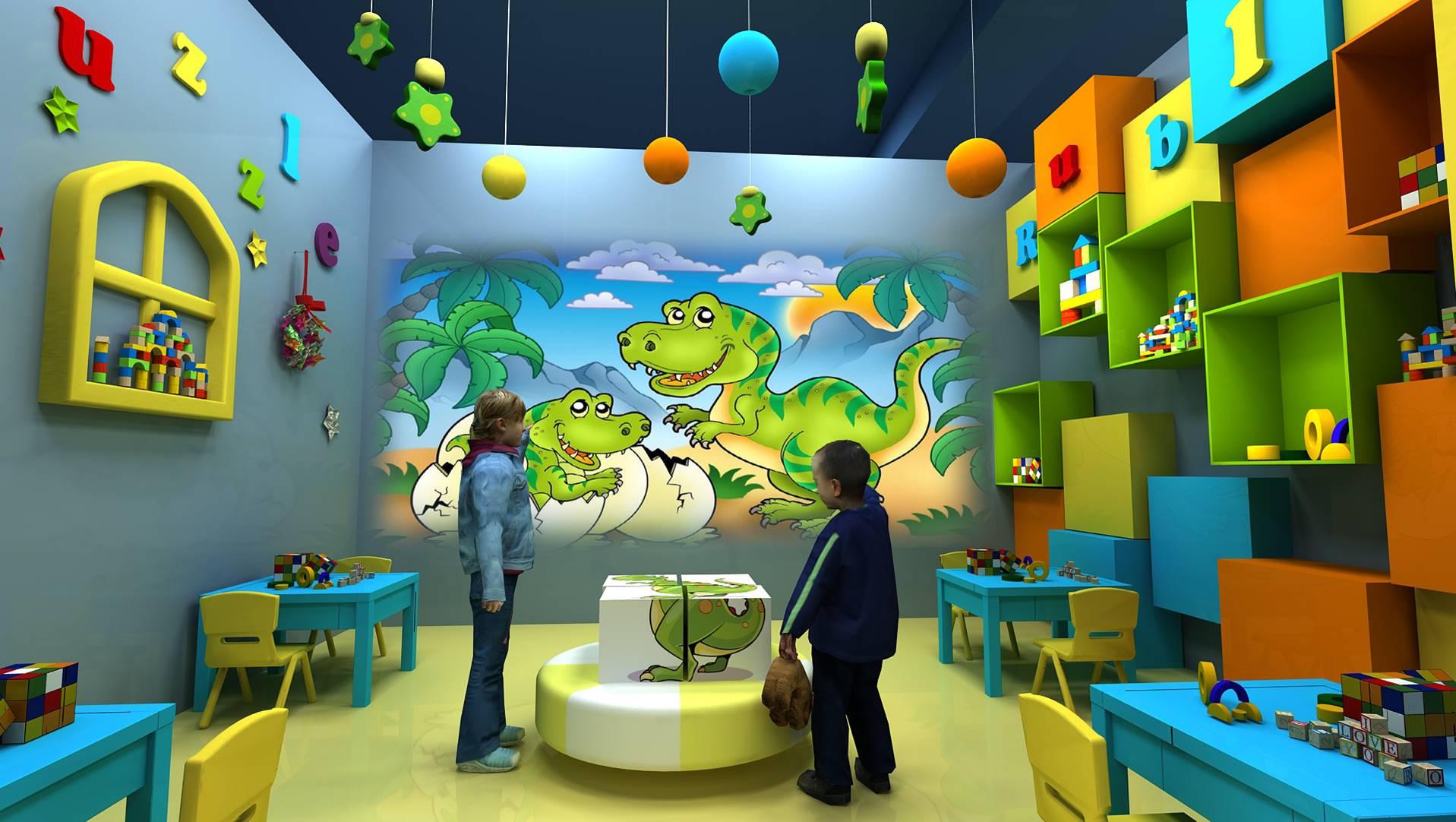 儿童乐园科普活动体验中心