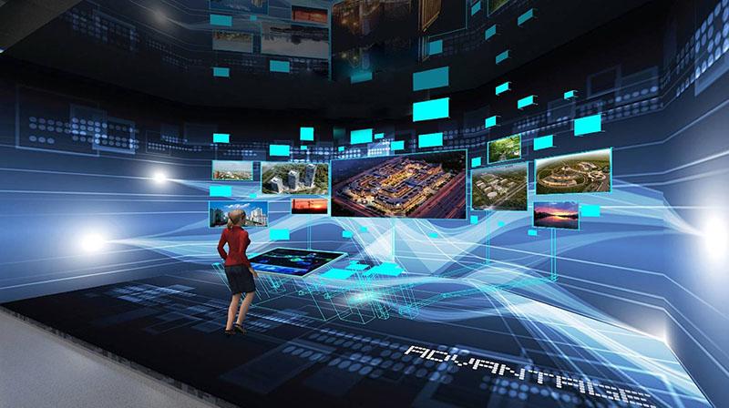 大屏幕多屏联动飞屏系统