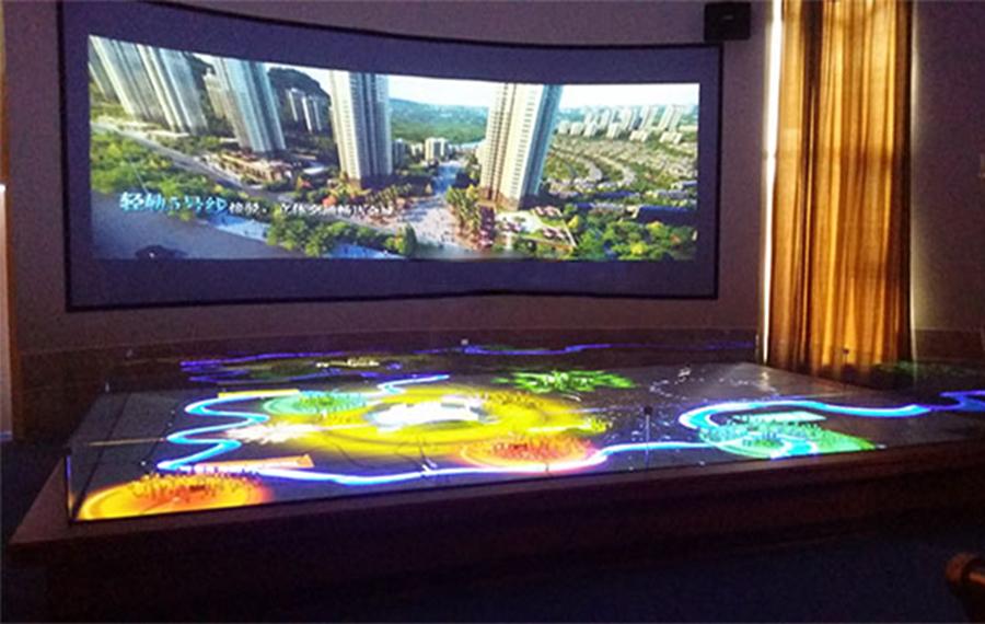 售楼中心声光电互动沙盘系统